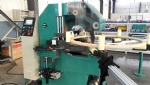Transformer shield rings taping machine